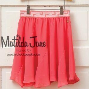 Matilda Jane Girls Bright Ideas Skirt   NWOT